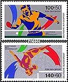 BRD (BR.Deutschland) 1408-1409 (kompl.Ausgabe) 1989 Sporthilfe (Briefmarken für Sammler)