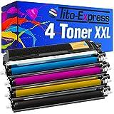PlatinumSerie® Set 4 Toner-Kartuschen XL kompatibel für Brother TN-230 HL-3040N HL-3040CN HL-3045 CN HL-3070CN HL-3070CW HL-3075 CW MFC-9120CN MFC-9320CW DCP-9010CN MFC-9125 CN MFC-9325 CW