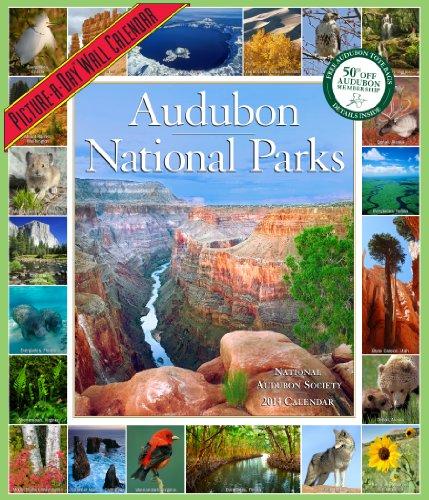 Audubon National Parks Calendar 2014