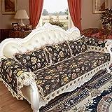 ZCM Sofa Überwürfe, 4 Season Schutzhülle Couch Protector Sessel Anti-Rutsch Elastik Couchbezug LI-362(EIN Stück) (größe : 90 * 120cm)