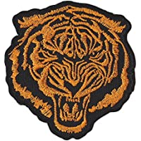 Tigre Animal Dorado Tiger Patch Parche para ropa Parches Bordados Parche Termoadhesivo Iron on Patches Sew