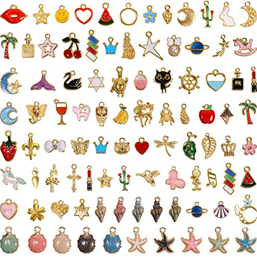 95 Pieces Assorted Gold Plated E...