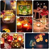 LED Kerzen, OMORC 24x LED teelicht Kerzen flammenlos, Weihnachten &Erntedankfest LED Teelichter-Kerzen, Kerze LED und perfektes Requisit für Party, Bar, Hochzeit, Festival (A-Warm Weiß) für LED Kerzen, OMORC 24x LED teelicht Kerzen flammenlos, Weihnachten &Erntedankfest LED Teelichter-Kerzen, Kerze LED und perfektes Requisit für Party, Bar, Hochzeit, Festival (A-Warm Weiß)