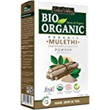 INDUS VALLEY 100% Natural Pure Mulethi Powder | Best for Both hair and Skin care -(100g)