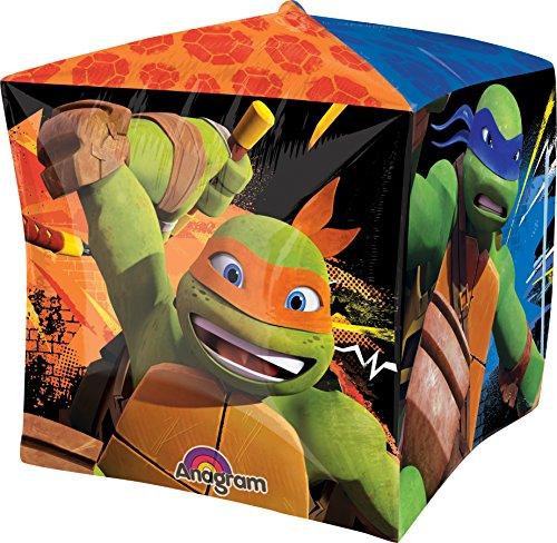 Anagram International Teenage muntant Ninja Turtles Cubez Ballon Pack, 38,1cm Multicolor - Party Ninja Pack Turtle