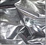 Lycra Stoff Meterware am Stück (Silber)