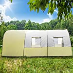 TecTake 800588 XXL Camping Tunnel Tent with Foyer 4-6 persons 13
