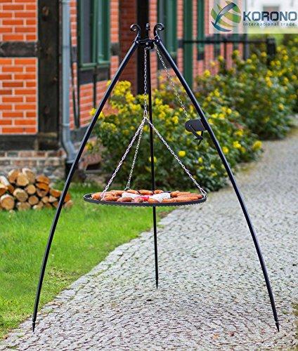 Schwenkgrill - 2,00m incl. Ø 80cm Grillrost