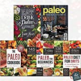 Paleo Diet Collection 5 Books Set With Gift Journal (Eat Drink Paleo, Paleo: The Real Food Diet to Reset Your Life, The Paleo Diet for Brits: The Essential British Paleo Cookbook and Diet Guide, Paleo for Beginners: Essentials to Get Started, The Paleo Cookbook: 300 Delicious Paleo Diet Recipes)