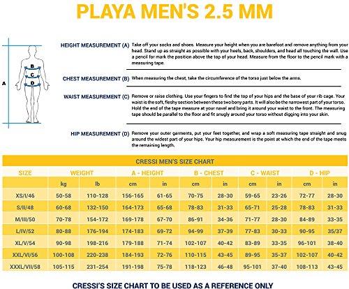 Cressi Playa Man – Neoprenanzug Shorty Premium Neopren 2.5mm – Herren - 7