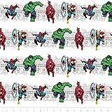 Camelot Marvel III Price & Hero Streifen in Weiß Nähen