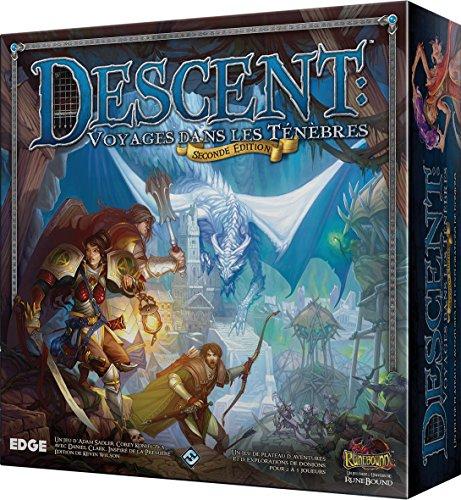 Asmodée - FFDES01 - Dés et Jeux de dés - Descent - 2ème Edition - Version Anglaise