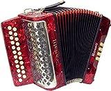 Scarlatti Rosso B-C Melodeon