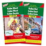 Kuba West und Ost, Autokarten Set 1:4...