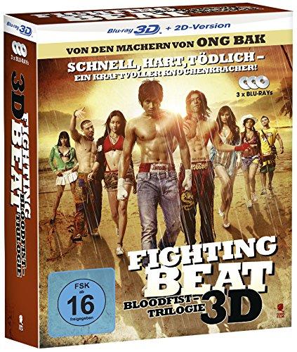 Fighting Beat 1-3 - Die Komplettbox mit allen 3 Teilen [3x Blu-ray 3D + 2D Version]
