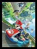 Nintendo Affiche encadrée Mario Kart 30x 40cm Grand 8'
