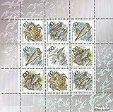 Rußland 323-327 Kleinbogen (kompl.Ausg.) 1993 Tierwelt der Meere der pazifischen (Briefmarken für Sammler)
