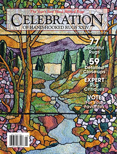 Celebration of Hand-Hooked Rugs XXIV (English Edition) -