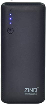 Zinq Technologies Z10KI 10000mAh Lithium Ion Power Bank (Black)