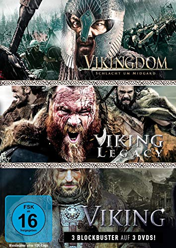 Wikinger-Box: Viking, Vikingdom & Viking Legacy (3 DVDs)