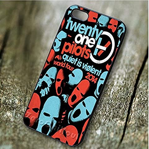 Chic Twenty One Pilots Quiet Is Violent - zd pour Coque Iphone 5 or Coque Iphone 5S or Coque Iphone 5SE Case F3U8PF