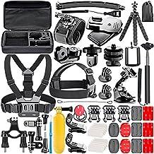 Neewer 53-en-1 cámara de la acción Kit de accesorios para GoPro héroe Sesión / 5 héroe 1 2 3 4 5 3+ SJ4000 5000 6000 dBpower AKASO VicTsing APEMAN WiMiUS Rollei QUMOX Lightdow Campark y Sony Deportes Dv y más