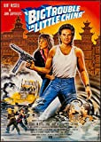 CLASSIC POSTERS Big Trouble In Little China Foto-Nachdruck Eines Filmposters 40x30cm