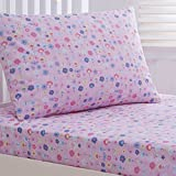 Debenhams Kids' Pink 'Sarah-Jane Butterfly' Fitted Sheet And Pillow Case Set Single