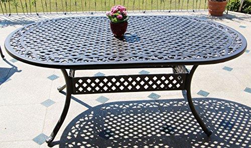 Jardin Table aluminium cm