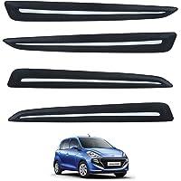 Hi Art Car Custom Fit Bumper Scratch Protectors Compatible with Hyundai Santro (2018-2019), Set of 4