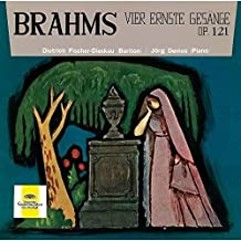 Brahms:Vier Ernste Gesaenge [Import anglais]