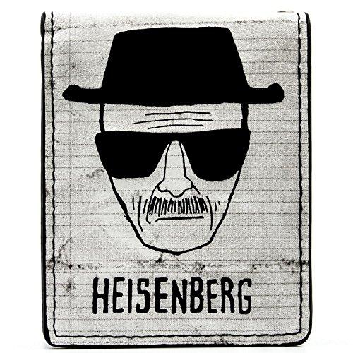 ter White Heisenberg Weiß Portemonnaie Geldbörse (Breaking Bad Kostüme Jesse Pinkman)