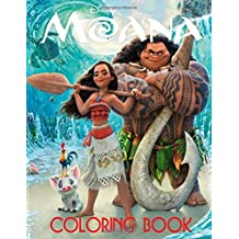 Disney Moana: Coloring Book for Kids and Adults of all ages