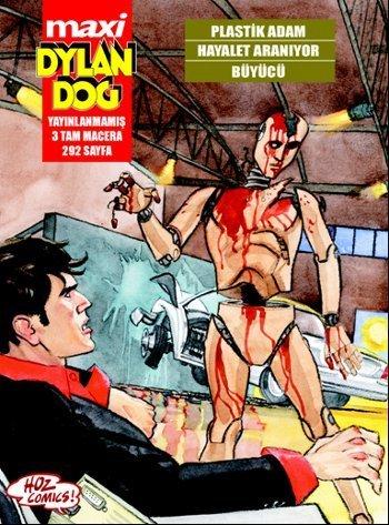 Maxi Dylan Dog 7: Plastik Adam Hayalet Araniyor Buyucu