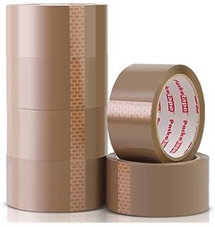 24 Rollen Klebe Band Paketband transparent 48mm 12 Rollen Bruchgefahr je 66m
