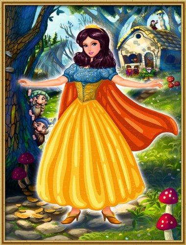 noris-juego-de-pinturas-por-nmeros-blancanieves