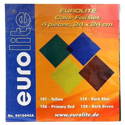 Eurolite 9410045A PAR-64 Accessory Farbfolienset (24x24 cm)