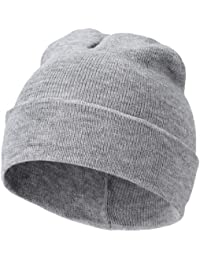U.S. Knitted Beanie Beany Cap Hat - 5 Colours Black Red Navy Grey Lime