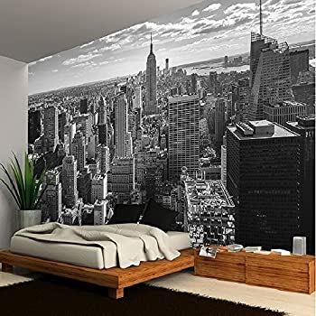 NEW YORK MANHATTAN SKYLINE WALLPAPER MURAL PHOTO GIANT WALL POSTER DECOR ART Part 56
