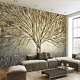Wuyyii Tapeten Foto 3D Hd Benutzerdefinierte Stereo Wandbild Moderne Nordische Europäische Traumhafte Elch Tapete Wohnzimmer Und Fernseher-350X250CM