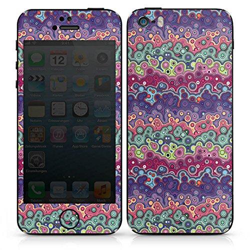 Apple iPhone 6 Case Skin Sticker aus Vinyl-Folie Aufkleber Farben Blasen Pattern DesignSkins® glänzend