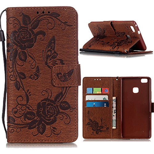 Case iPhone 6 /iPhone 6S( 4.7 Zoll), Linvei® Hülle iPhone 6 /iPhone 6S Leather Case Cover Mit TPU Silikon Tasche Schutzhülle For iPhone 6 /iPhone 6S- Grau Braun