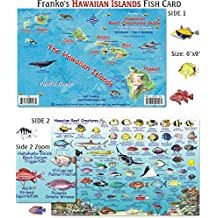 Franko Maps Hawaiian Islands Reef Creatures Fish ID for Scuba Divers and Snorkelers