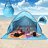 Best Beach Shelters - With Zipper Door Pop Up Canopy Portable Beach Review