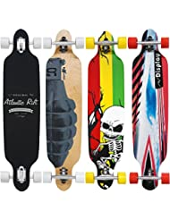 "Skateboard LONGBOARD - ORIGINAL ""Atlantic Rift"" 107 x 24cm - Roues ABEC 9"