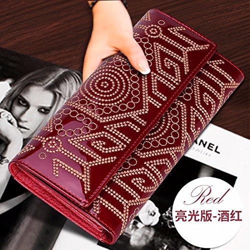 hoom-mode-pour-femmes-grand-portefeuille-en-cuir-sac-a-main-porte-monnaie-zip-autour-rouge