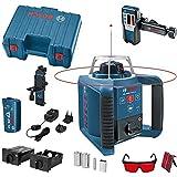 Bosch Professional rotationslaser GRL 300 HV (röd stråle, lasermottagare LR 1, arbetsområde: upp till 300m (diameter), i för