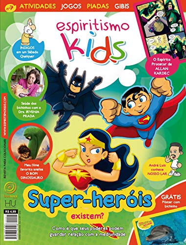 Revista Espiritismo Kids 7 (Portuguese Edition)