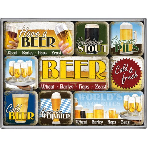 Nostalgic-Art 83048 Bier und Spi...