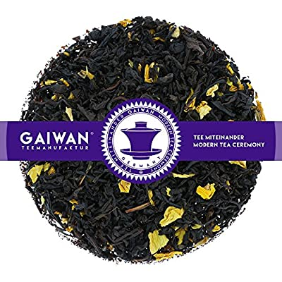 """N° 1297: Thé noir """"Fruit de la passion"""" - feuilles de thé - GAIWAN® GERMANY - thé noir d'Inde, Chine, tournesol"""